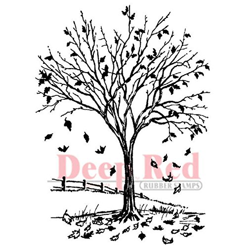 Autumn Leaves Rubber Stamps - 5