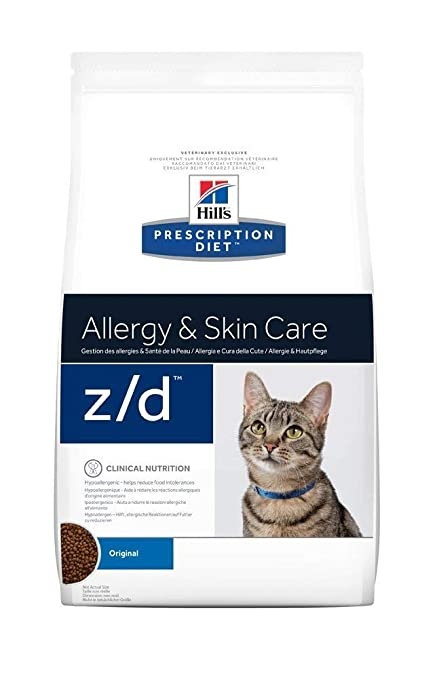Hills Pr Diet Feline z/d Low Allergen ...
