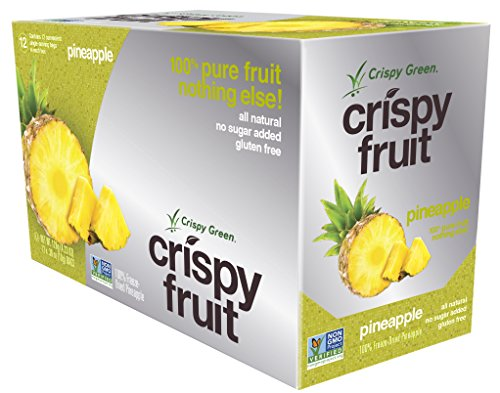 Crispy Green Freeze Dried Non GMO Pineapple product image