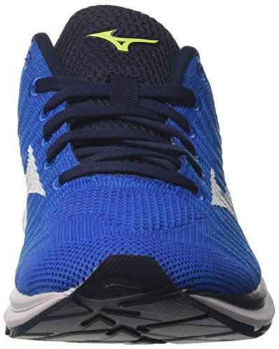 Waveknit Uomo da Safetyyellow Scarpe Brilliantblue Running Blu Mizuno R1 White Bxq1H7w7