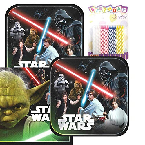 Lobyn Value Pack Star Wars Classic Party Plates