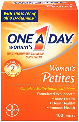One A Day Women's Petites Complete Multivitamin, 160 Count