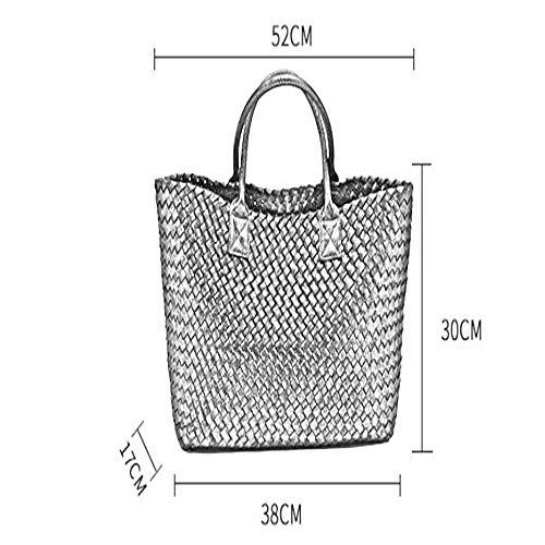 New Fashion Damentasche Soft Shoulder Trend Bag Volltonfarbe Damentasche Open Snake-print Handtasche Schwarz