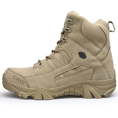 Men's Shoes Hiking Shoes Suede/Synthetic Microfiber PU Fall/Winter Comfort/Fashion Boots Hiking Shoes/Walking Shoes Booties (Color : 002, Size : 45)