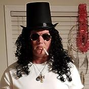 Amazon.com: Lip Anillo sombrero de copa y Aviator anteojos ...