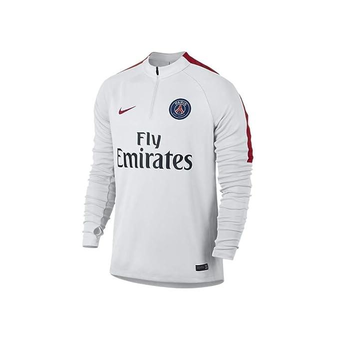 Nike PSG M Dril Top SQD Camiseta de Manga Larga Paris Saint ...