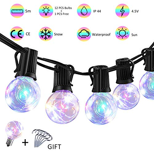 Led Color Changing Globe String Lights