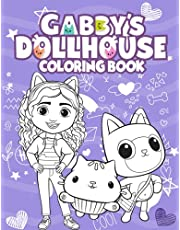 Gabby's Dollhouse Coloring Book: High Quality JUMBO Coloring Book For Kids Ages 4-8 (New Edition 2022), Encourage Creativity for Kids & Toddlers with One Sided Drawing Pages Of Characters and Iconic Scenes.