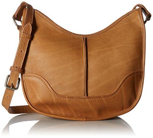 FRYE Cara Saddle Leather Crossbody