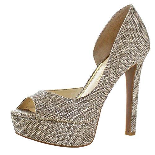 Jessica Simpson Martella Women's Mesh D'Orsay Heels Shoes Go