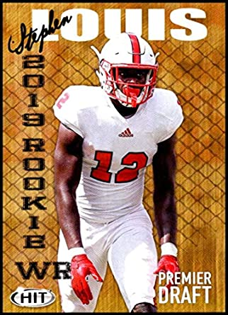 new style 0f592 f7df0 Amazon.com: 2019 SAGE Hit Premier Draft #46 Stephen Louis NC ...