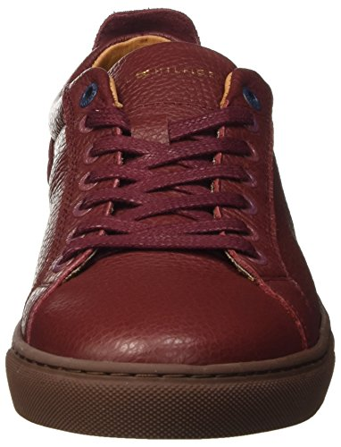 Tommy Hilfiger M2285ount 11a, Zapatillas para Hombre Marrón (Decadent Chocolate 296)