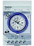 Theben 1610011 SYN 161 d 1W Segmente Schaltuhr