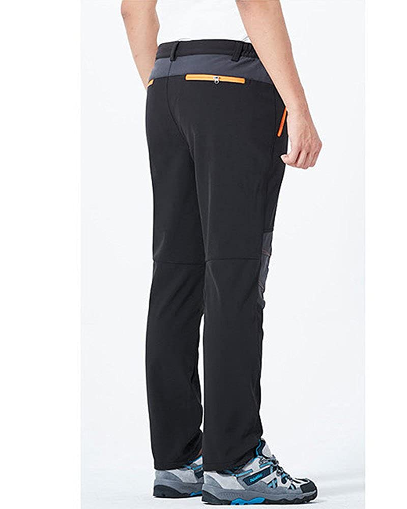 Qitun Femme Homme Pantalon R/ésistant Imperm/éable Camping Randonn/ée Escalade P/êche Pantalon