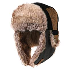 The Stylish Winter Windproof Earflap Trapper Hat which Lined with Extremely Soft and Quality Fleece Lining, Provides Great Warmth and Comfort for Head, Ears and Neck in Extreme Cold Weather. Awesome Winter Accessories for Cycling, Skiing, Sno...