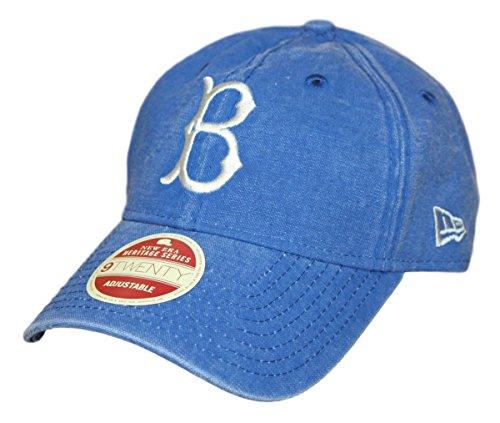 New Era Brooklyn Dodgers MLB 9Twenty Cooperstown Classic Wash Adjustable (Wash Mlb Cotton Hat)