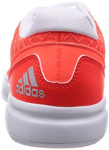 1 Tennis Allegra EU 5 7 Donna adidas UK 3 Weiß neonrot Sonic 41 Scarpa WgBxwqnp