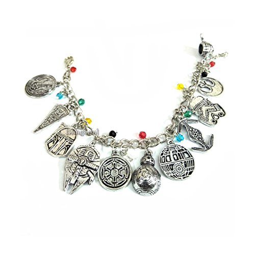 BlingSoul Darth Vader Bracelet Jewelry for Women - Yoda Gift for Women
