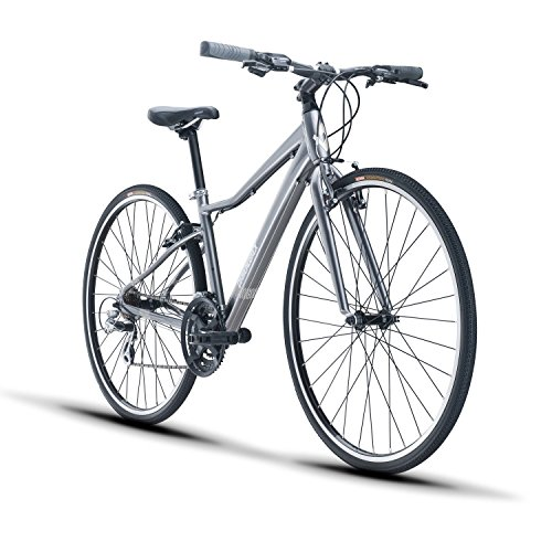 Diamondback Bicycles Clarity 1 Women's Fitness Hybrid Bike, Silver
