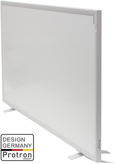 Protron Infrarotheizung Infrarot Panel Heizk/örper Elektroheizung Wandheizung 720Watt 120x60cm Aluminiumrahmen 720W 720 Watt