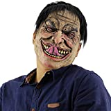 Feoya Scary Halloween Mask Funny Indecent Man Costume Cosplay Adult Mask