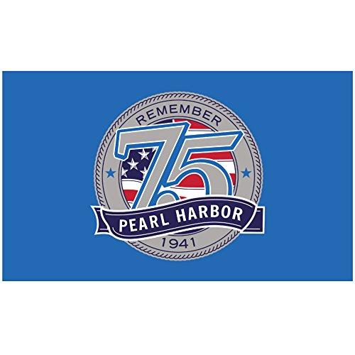 Annin Nylon Pearl Harbor Flag, 3 x 5 ft ()