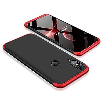 Abuenora Huawei P20 Lite Funda Antigolpes, Carcasa Huawei P20 Lite Teléfono Movíl Protector Ambos Lados Protección 360 Integral Completa Pantalla ...