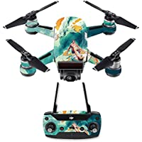 Skin for DJI Spark Mini Drone Combo - Acid Surf| MightySkins Protective, Durable, and Unique Vinyl Decal wrap cover | Easy To Apply, Remove, and Change Styles | Made in the USA