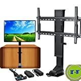 VEVOR TV Lift Motorized 110V Adjustable TV Lift Automatical TV lift Mechanism 32-70 Inch with Remote Controller for LCD LED TV