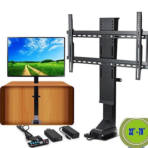 VEVOR TV Lift Motorized 110V Adjustable TV Lift Automatical TV lift Mechanism 32-70 Inch with Remote Controller for LCD LED TV by VEVOR