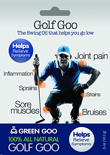 Green Goo All-Natural Skin Care Golf Goo Stick, 0.6 Ounce by Green Goo