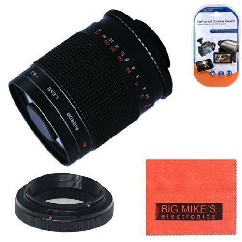 High-Power 500mm f/8 0 Telephoto Mirror Manual Lens for Nikon D90 D3000 D3100 D3200 D3300 D5000 D5100 D5200 D5300 D7000 D7100 D300 D300s D600 D610 D700 D800 D800e D810の商品画像