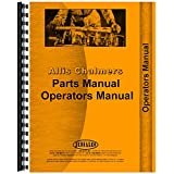 New Operators & Parts Manual Made for Allis Chalmers AC Tractor Model WD