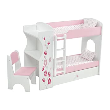 Amazon Com Emily Rose Doll Clothes 18 Inch Doll Bed Furniture