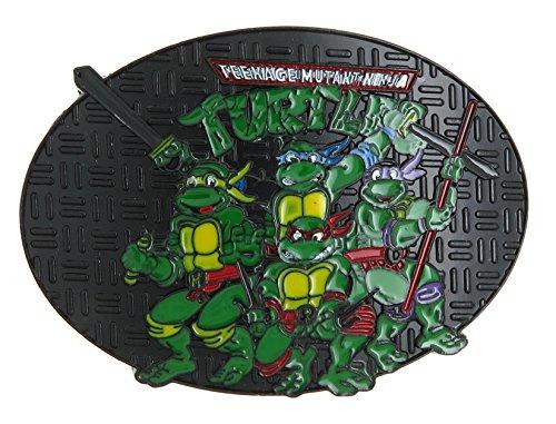 TMNT Teenage Mutant Ninja Turtles Belt Buckle