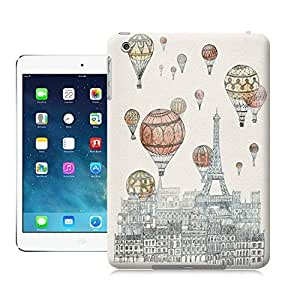 LarryToliver Hot air balloon and Eiffel Tower case battery cover for ipad mini by runtopwell
