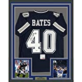 Framed Autographed/Signed Bill Bates 33x42 Dallas