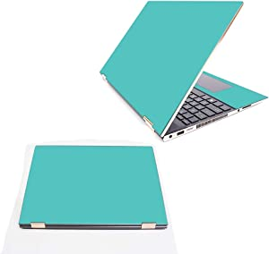 """MightySkins Skin Compatible with HP Spectre x360 15.6"""" (2018) - Solid Turquoise 