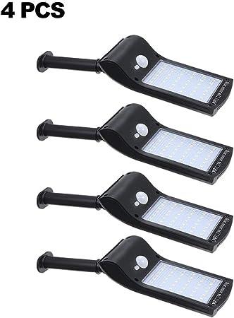 Galapara Focos LED Solar Exterior Lámparas Solares Farola Jardín Ultra Brillante 36 Leds 280 Lúmenes Impermeable IP65 Sensor de Movimiento para Patio Balcón Porche Calzada: Amazon.es: Hogar