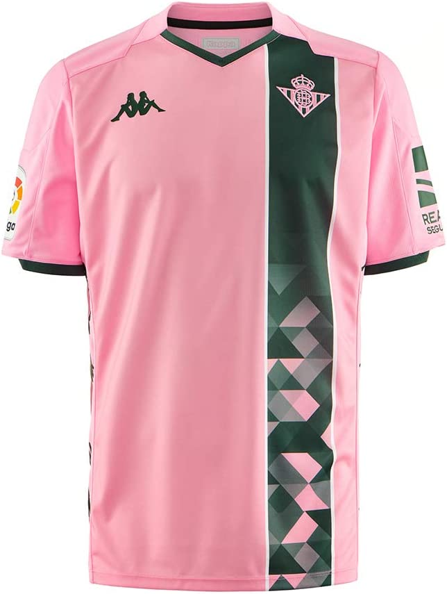 Kappa 2019-2020 Real Betis Third Football Soccer T-Shirt Camiseta