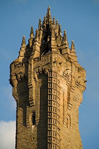 Wallace Monument - Wallmonkeys Wallace Monument Wall Mural Peel and Stick Graphic (36 in H x 24 in W) WM360854