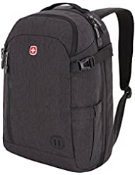 SwissGear Weekender Backpack / Duffel / Bookbag, fits Most 15 Laptop Computers (Dark Grey Color)