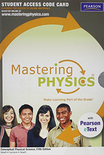 Price comparison product image MasteringPhysics with Pearson eText -- Standalone Access Card -- for Conceptual Physical Science (5th Edition)