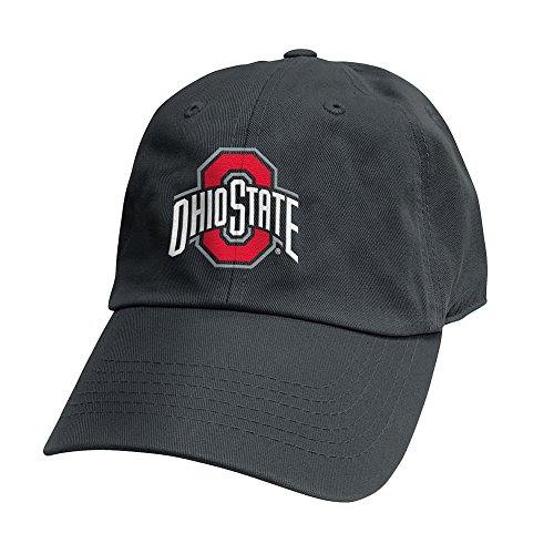 Elite Fan Shop Ohio State Buckeyes Hat Charcoal - Adjustable
