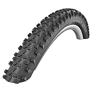 Schwalbe Smart Sam HS 367 Off-Road Bicycle Tire (26x2.25, ORC Wire Beaded, Black Skin)