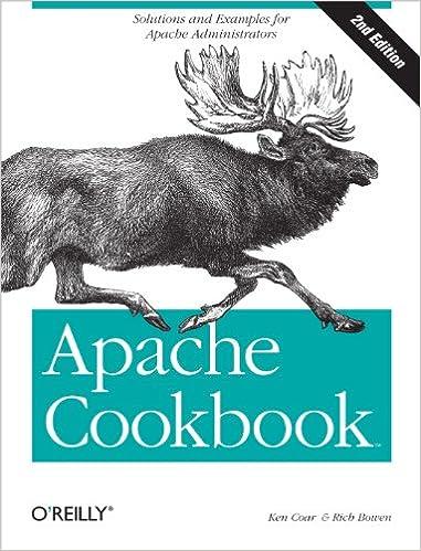 Livre Apache Cookbook