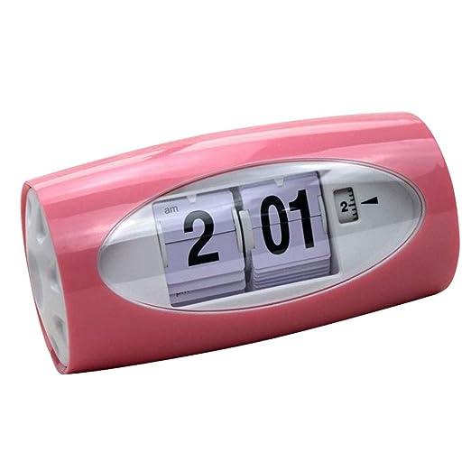 Reloj de Mesa Digital Reloj con Tapa Automática Reloj con Alarma ...