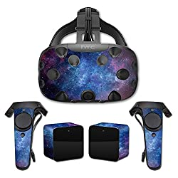 MightySkins Protective Vinyl Skin Decal for HTC Vive wrap cover sticker skins Nebula
