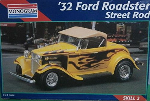 Ford Roadster Street Rod (Monogram '32 Ford Roadster Street Rod 1:24)