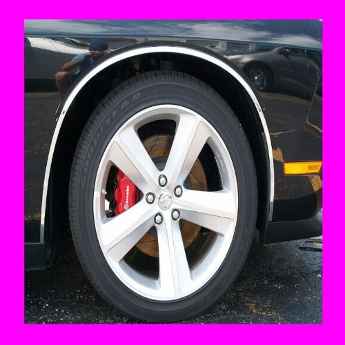 2000-2005 CADILLAC DEVILLE CHROME WHEEL WELL / FENDER TRIM MOLDINGS 4PC 2001 2002 2003 2004 00 01 02 03 04 05